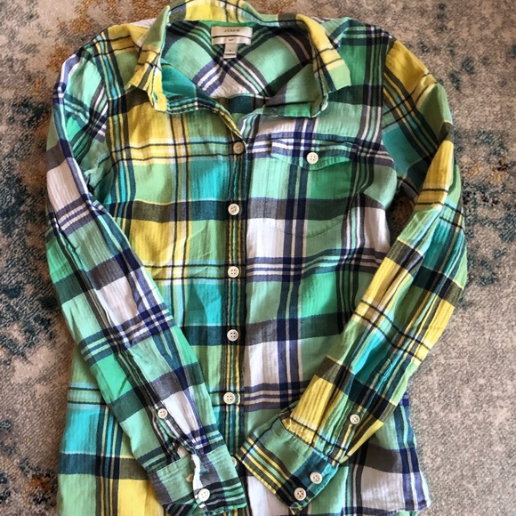 J. Crew Tops - JCREW women's button up. In good condition.